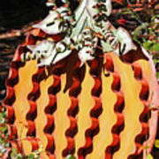 Metal Pumpkin Poster