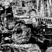 Metallic Jeep Jku Wrangler Poster