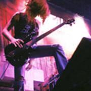 Metallica 1986 Cliff Burton Poster