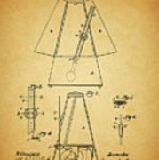 Metronome Patent Poster