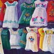Mexican Dresses Poster
