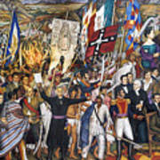 Mexico: 1810 Revolution Poster