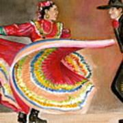 Mexico City Ballet Folklorico Poster