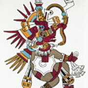 Mexico: Quetzalcoatl Poster