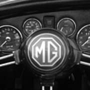 Mg Midget Dashboard Poster