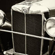 Mg Tc Sports Grill - Vintage Poster