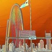 Mhh Bridge Abstract Poster