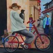 Mi Bicicleta Poster