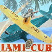 Miami-cuba Poster by Glenda Zuckerman