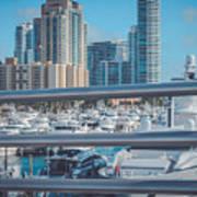 Miami Marina Poster