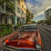 Miami Ride Poster
