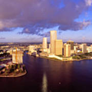 Miami Skyline 3 Poster