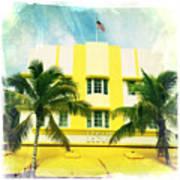 Miami South Beach Ocean Drive 2 Poster