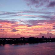 Miami Sunrise Poster