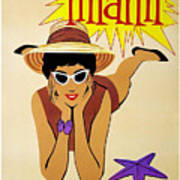 Miami Travel Poster Poster