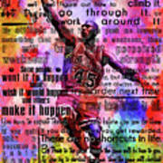 Michael Air Jordan Motivational Inspirational Independent Quotes 3 Poster