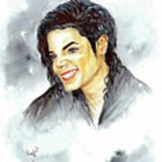 Michael Jackson - Smile Poster