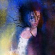 Michael Jackson 16 Poster by Miki De Goodaboom