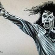 Michael Jackson Poster by Anastasis  Anastasi