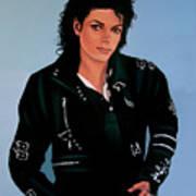 Michael Jackson Bad Poster