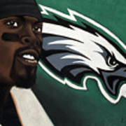 Michael Vick Poster by L Cooper