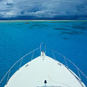 Micronesia, Boat Bow Poster