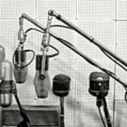 Microphones At Sun Records Poster
