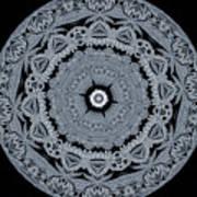 Mid Night Kaleidoscope Poster