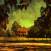 Middleton Place In Charleston Poster