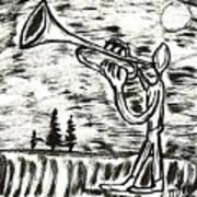 Midnight Horn Poster