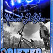 Midwest Ski Bikes Poster