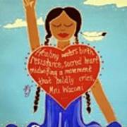 Midwives Of Standing Rock Poster