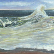 Mighty Nauset Wave Poster
