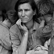 Migrant Mother, Portrait Of Florence Poster
