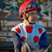 Mike Smith- Horse Jockey Poster