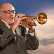 Mike Vax Professional Trumpet Player Photographic Print 3765.02 Poster