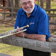 Mike Vax Professional Trumpet Player Photographic Print 3767.02 Poster