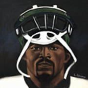 Mike Vick Poster by L Cooper