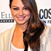 Mila Kunis At Arrivals For Cosmopolitan Poster
