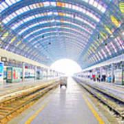 Milan Train Station Poster