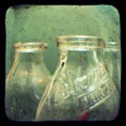Milk Bottles Poster