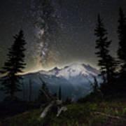 Milky Mountain Poster
