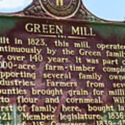 Mill Description Poster