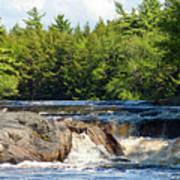 Mill Falls, Kejimkujik National Park, Nova Scotia Poster