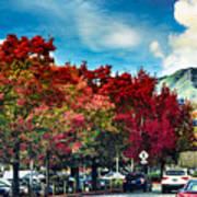 Mill Valley Autumn Poster
