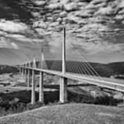Millau Bridge France Poster