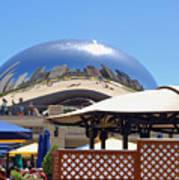 Millenium Park - Slice Of Chicago Poster