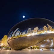 Millennium Park - Chicago Il Poster by Drew Castelhano