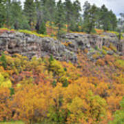 Million Dollar Highway Fall Color Poster