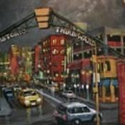 Milwaukee's Historic Third Ward Poster by Tom Shropshire